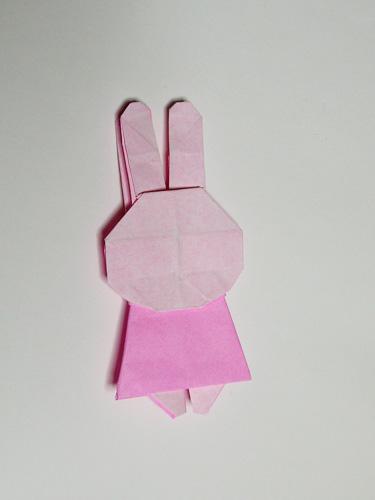 折り紙 ミッフィー