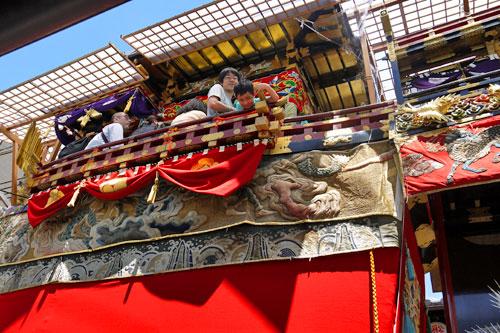 祇園祭船鉾
