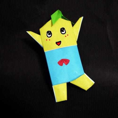 ふなっしーの折り紙