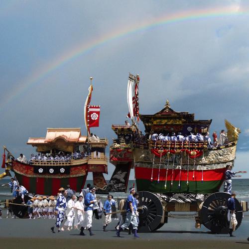 京都祇園祭 船鉾と大船鉾