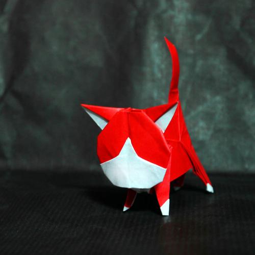 折り紙アカマル