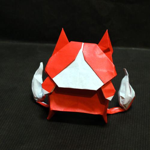 妖怪ウォッチ折り紙(ジバニャン)