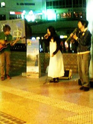 水戸駅前ストリートライブ