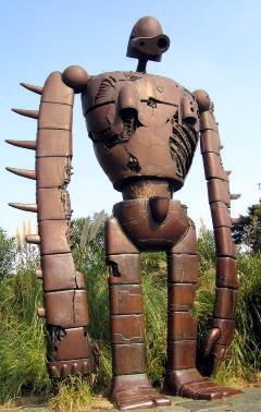 ロボット兵ラピュタジブリ