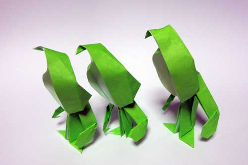 こびと折り紙