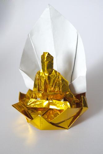 折り紙仏像