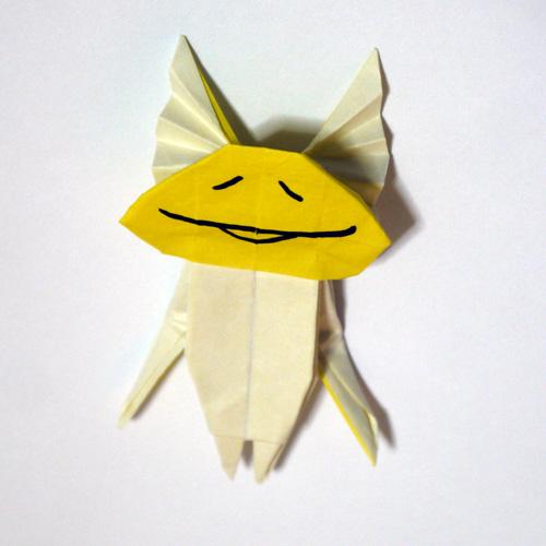折り紙 天使なめこ