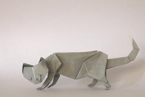 折り紙 猫