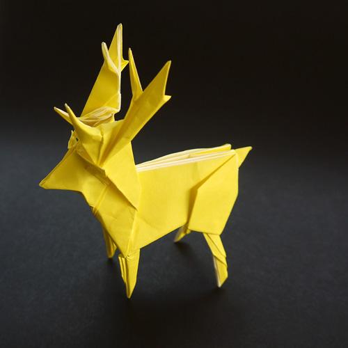 折紙 シカ