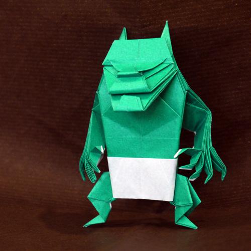 折り紙 鬼