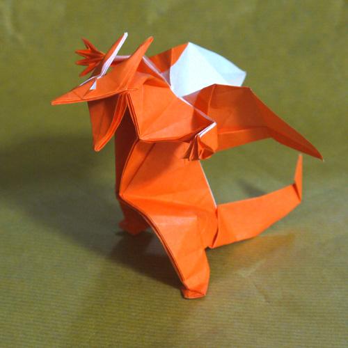折り紙 リザードン ポケモン