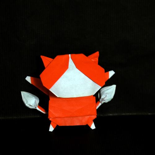 ジバニャン 折り紙 妖怪ウォッチ
