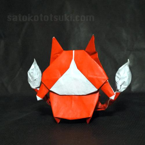 妖怪ウォッチ ジバニャン 折り紙