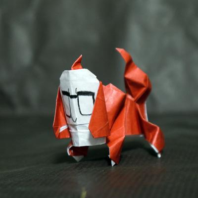 人面犬 折り紙 妖怪ウォッチ