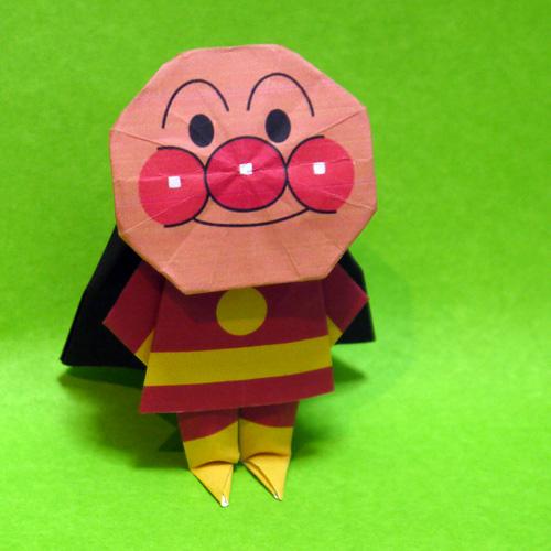折り紙のアンパンマン