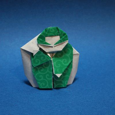 折り紙の泥棒