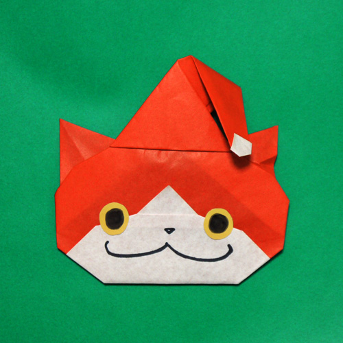 折り紙 クリスマス 妖怪ウォッチ