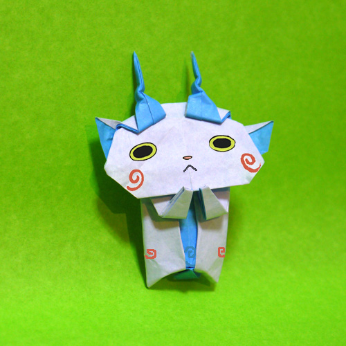 折り紙コマさん
